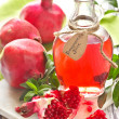 Homemade pomegranate juice. — Stock Photo #13697329