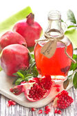 Homemade pomegranate juice. — Stock Photo