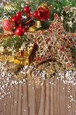 Vánoční složení. — Stock fotografie