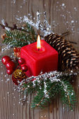 рождественская композиция. — Стоковое фото