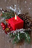 Composición de navidad. — Foto de Stock