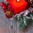 Christmas composition. — Stock Photo