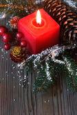 Weihnachten zusammensetzung. — Stockfoto