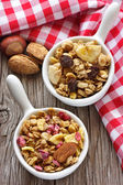 Homemade granola. — Stock Photo