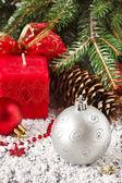 Decoratie van kerstmis. — Stockfoto