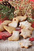 рождественское печенье. — Стоковое фото