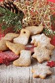 Biscoitos de natal. — Foto Stock