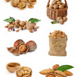 Nuts and nuts. — Stock Photo
