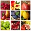 Collection of fruit. — Stock Photo