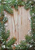 Vánoční rám. — Stock fotografie