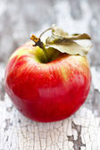 Wet red apple. — Stock Photo