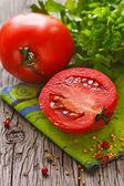 Tomates frescos. — Foto de Stock