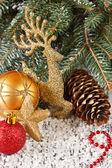 クリスマスの装飾. — ストック写真