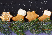 Christmas gingerbread. — Stock Photo