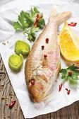 Fresh fish. — Stock Photo
