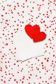 Cuori di san valentino. — Foto Stock