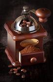 Vintage coffee grinder. — Stock Photo