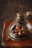 Vintage coffee grinder. — Stock Photo