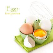 鸡蛋. — 图库照片
