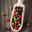 Peppercorn mix. — Stock Photo
