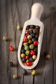 Peppercorn mix. — 图库照片