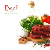 Beef meat. — Stock Photo