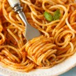 Stock Photo: Spaghetti bolognese.