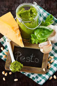 Pesto sauce. — Stock Photo