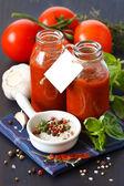 Tomato sauce. — Stock Photo