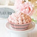Pink cupcake. — Stock Photo #23398492