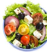 Greek salad. — Zdjęcie stockowe