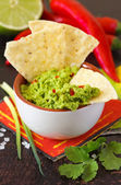 Guacamole dip. — Stock Photo