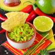 Guacamole dip. - Stock Photo
