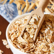 Oat flakes. — Stock Photo