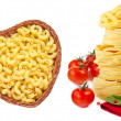 Collection of pasta. — Stock Photo #25633437