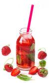 Bevanda alla fragola. — Foto Stock