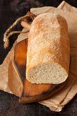 Färskt bröd. — Stockfoto