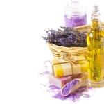 Lavender spa. — Stock Photo