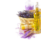 Lavender spa. — Stock Photo