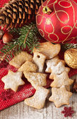 Christmas cookies. — Stock Photo