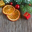 Christmas spicy composition. — Stock Photo #34687741