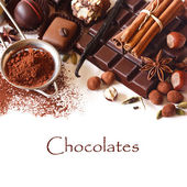 Chocolates. — Stock Photo