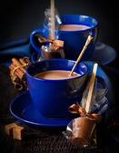 Hot chocolate. — Stock Photo