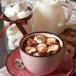 Hot chocolate. — Stock Photo