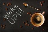 Koffie. — Stockfoto
