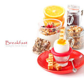 Fresh breakfast. — Stock Photo