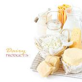 Produits laitiers frais. — Photo