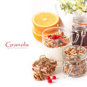 Granola. — Stock Photo