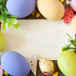 Easter card. — Stock Photo