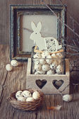 Rustic Easter. — Stock Photo